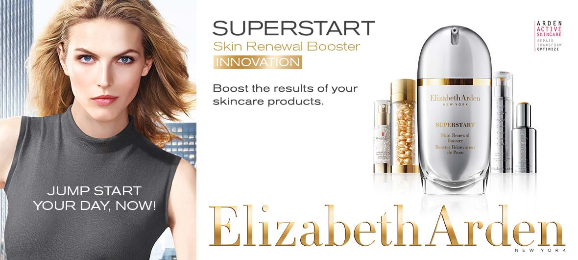SUPERSTART Skin Renewal Booster INNOVATION Boost the results od your skincare products. Elizabeth Arden